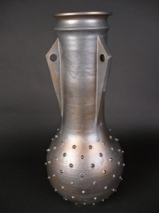 #7. Ceremonial Vase, Antique Bronze
